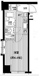 プレール・ドゥーク水天宮2[904号室]の間取り