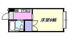 湘南グリーンハイツ[102号室]の間取り