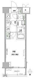 ハーモニーレジデンス東京イースト[5階]の間取り