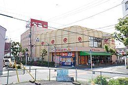 スーパーまで430m、ベニースーパー430m(徒歩6分)
