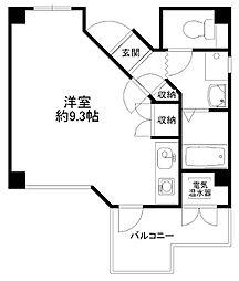 センターハウス[503号室]の間取り