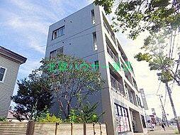 北海道札幌市東区北二十四条東5丁目の賃貸マンションの外観