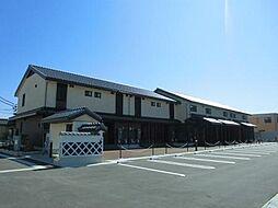 富山県富山市西荒屋の賃貸アパートの外観
