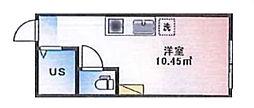 (仮称)ルームズ西早稲田B棟[103号室]の間取り