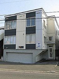 北海道札幌市手稲区曙四条3丁目の賃貸アパートの外観
