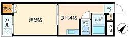 ハイツ長井上新庄[3階]の間取り
