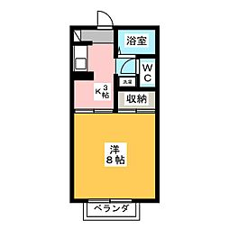 ルミエール21[2階]の間取り
