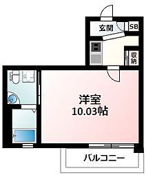 Osaka Metro御堂筋線 江坂駅 徒歩4分の賃貸マンション 5階1Kの間取り