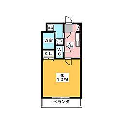 マンションらぴす[3階]の間取り