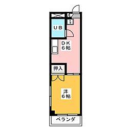 レナジア桜山(旧フォレスト桜山)[3階]の間取り