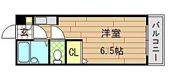 大宝小阪本町ル・グラン[401号室]の間取り