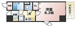 ウェルブ六甲道3番街1番館[11階]の間取り