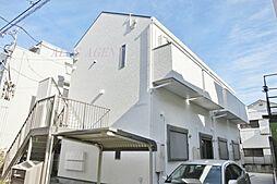 神奈川県横浜市鶴見区向井町2丁目の賃貸アパートの外観