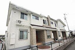 広島県福山市新涯町2丁目の賃貸アパートの外観
