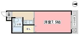 Passage I[301号室]の間取り