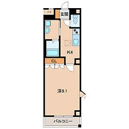 リッチ&フォース[1階]の間取り