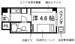 コスモリード京都今出川[9階]の間取り
