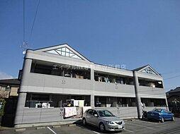岡山県倉敷市福井の賃貸マンションの外観