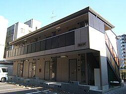 京都府京都市伏見区小栗栖岩ケ渕町の賃貸アパートの外観