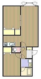 ルノール12[1階]の間取り