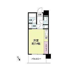 アーデンタワー神戸元町[0407号室]の間取り
