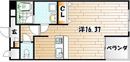 紺二ビル[3階]の間取り