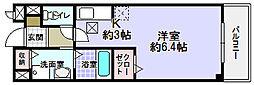 大阪府枚方市藤阪東町4丁目の賃貸アパートの間取り