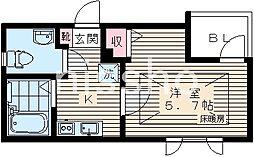 7576−ピアコートTM高円寺[3階]の間取り