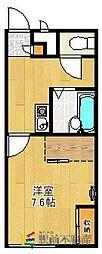 レオパレスF[1階]の間取り