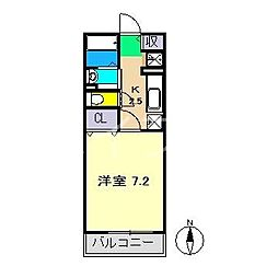 メゾン・フィオーレ[2階]の間取り