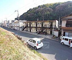 京都府八幡市橋本尻江の賃貸アパートの外観