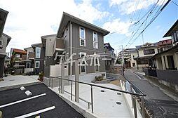 兵庫県神戸市須磨区月見山町3丁目の賃貸アパートの外観