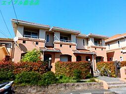 三重県桑名市大字蓮花寺の賃貸アパートの外観