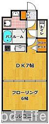 KT大濠[2階]の間取り