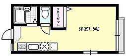 クロスファームIII[106号室]の間取り