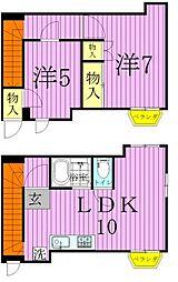 柳澤ビル[3階]の間取り