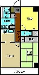 ファミール勝田台[306号室]の間取り