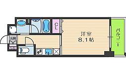 グランバース福島[2階]の間取り