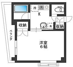 MYS TAKEKOSHI[2階]の間取り