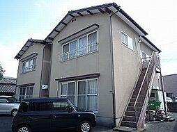 福々アパート[1階]の外観
