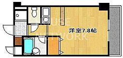 サンフェスタ東福寺[C206号室号室]の間取り
