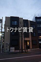 東京都中野区南台3丁目の賃貸アパートの外観