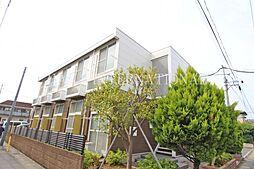 埼玉県川口市坂下町2丁目の賃貸アパートの外観