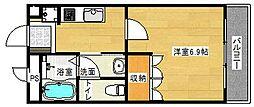 ティアーズガーデン[306号室]の間取り