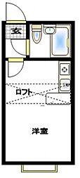 ベルピア茅ヶ崎第2[108号室号室]の間取り