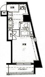 メインステージ大森駅前[7階]の間取り