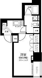 東京都中央区銀座2丁目の賃貸マンションの間取り