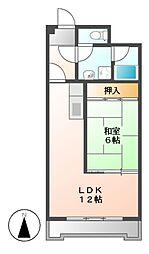 新栄第7ロイヤルマンション[5階]の間取り