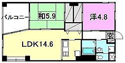 ラ・エスパシオ2[403 号室号室]の間取り