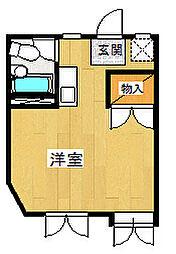 メゾン北鎌倉[204号室号室]の間取り